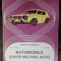 AUTOMOBILE SOFER MECANIC AUTO - GH. FRAILA M.V.POPA - ANUL III