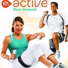 EA SPORTS Active: More Workouts - Nintendo Wii [SIGILAT], Sporturi, 3+, Multiplayer