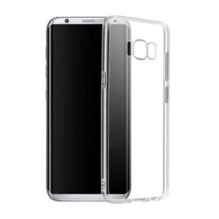 Husa silicon slim Samsung S8+ transparent