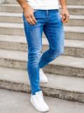 Blugi bleumarin bărbati skinny fit Bolf KX392