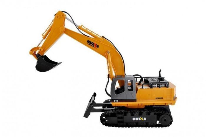 Excavator cu telecomanda, Cupa Metalica scara 1:16 2,4 GHz, 15 Functii