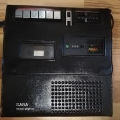 Stereo Cassette Recorder Tape SABA CR 336 - Impecabil/Rar/Vintage/RFG
