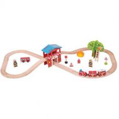 Set cu Trenuletul Pompierilor