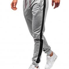 Pantaloni trening bărbați gri Bolf MK09