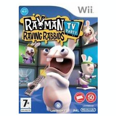 Rayman - Raving Rabbids TV Party - Nintendo Wii [Second hand], Actiune, 16+, Multiplayer