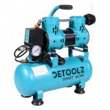 Compresor de aer, fara ulei,880W, 9L,Detoolz