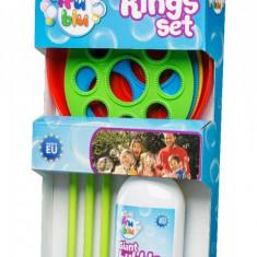 Set baloane de sapun, cercuri cu lichid, Fru Blu