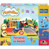 Set de joaca Plastelino, Parcarea cu masini