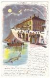 1570 - ORSOVA, Litho, Romania - old postcard - used - 1898, Circulata, Printata