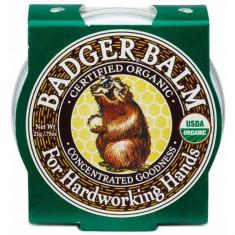 Mini balsam pentru maini crapate si muncite, Badger, 21 g