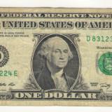 Bancnota -USD- Statele Unite ale Americii 1 Dolar - 2009 / A021