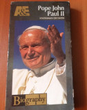 Pope John Paul II - Statesman Of Faith ( Biography ) - Caseta Video VHS