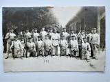 Fotografie Militara, Germania 1914-18 WW1: Grup de Soldati inarmati