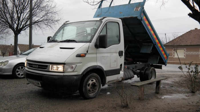 Iveco Daily 35c12 Basculabil, 2.3 HPI Diesel, an 2006