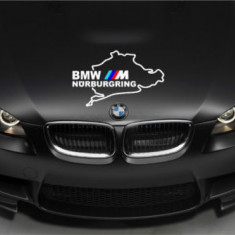 Sticker capota auto model BMW