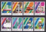 Rwanda  1984  telecomunicatii  MI  1259-1266  MNH  w62, Nestampilat