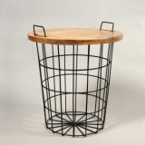 Masa de cafea Pluto – Design Industrial