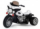 Cumpara ieftin Motocicleta electrica pentru copii, POLICE JT568 25W STANDARD Alb