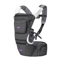 Marsupiu ergonomic pentru bebelusi si copii, multiple pozitii Clevamama for Your BabyKids