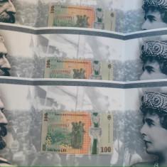 3 bancnote serii consecutive Centenar Marea Unire.