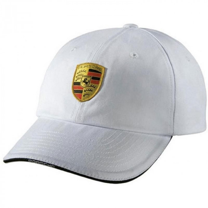 Sapca Alba Baseball Porsche