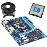 Kit Placa de Baza Refurbished GIGABYTE GA-H61M-D2-B3, Intel Core i3-2100, Cooler