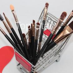 Set pensule machiaj 15 pensule make up