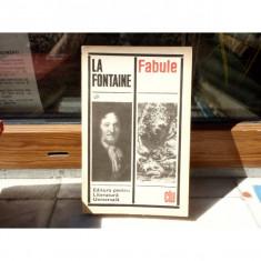 Fabule , La Fontaine , 1969