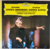 LP Brahms, Dvorak - Hungarian Dances / Slavonic Dances [Herbert von Karajan], VINIL, Deutsche Grammophon