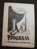 Programul Teatrul Colorado, Director Marele Vasiliu Birlic, stagiunea 1944-1945