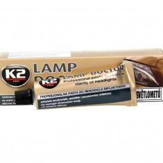 K2 Pasta Polish Curatare Faruri Auto, Lampi, Stopuri, inlatura stratul matuit