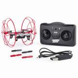 Drona de jucarie Airhogs quadrocopter Hyper Stunt pentru cascadorii