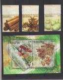 MALAEZIA 2011 CONDIMENTE serie 3 timbre + Bloc 2 timbre MNH**, Nestampilat