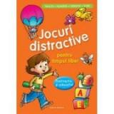 Jocuri distractive pentru timpul liber - Distractiv si educativ. Invata, numara, observa, scrie (Portocaliu)