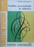 Analize gramaticale si stilistice (Ed. Albatros)
