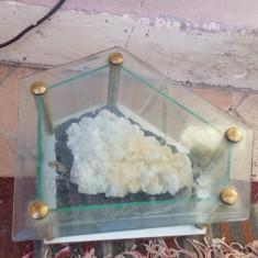 barita pe suport din sticla demontabil