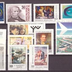 Argentina 1977-1978 - Lot timbre neuzate