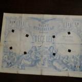 Bilet Hypothecar 10 lei 1877