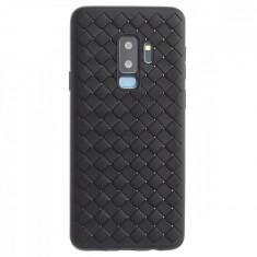 Husa silicon Samsung Galaxy S9 Plus Baseus Weaving Neagra