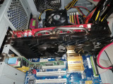 Placa video Amd radeon 4870 X2  512 mgb 256 GDDR5 biti