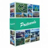 Album pentru 200 carti postale, cu 50 file transparente - 347 770
