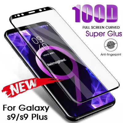 Folie sticla securizata curbata 100D FULL GLUE Samsung Galaxy S9 , S9 plus foto