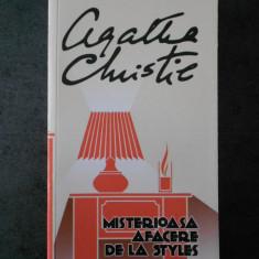 AGATHA CHRISTIE - MISTERIOASA AFACERE DE LA STYLES