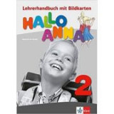 Hallo Anna 2, Lehrerhandbuch mit Bildkarten. Deutsch für Kinder - Olga Swerlova
