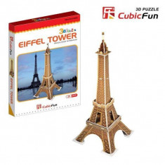Puzzle 3D CubicFun CBFA Turnul Eiffel