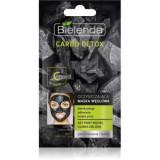 Bielenda Carbo Detox Active Carbon Masca de curățare cu cărbune pentru ten gras și mixt