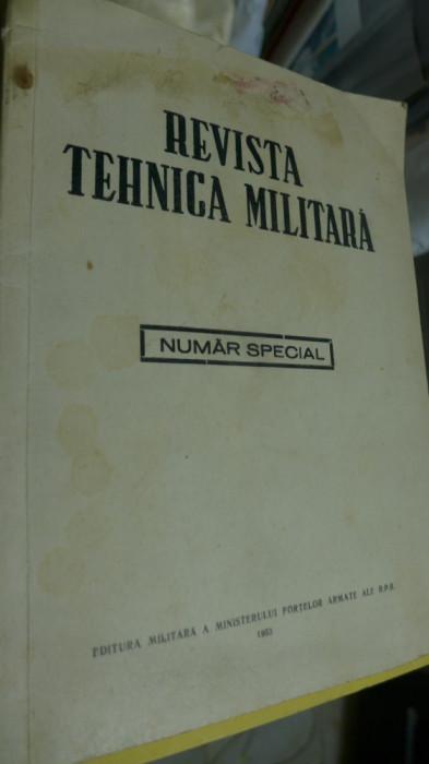 Revista Tehnica Militara - Numar Special - 1953 Moartea lui Iosif Stalin