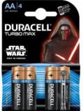 Set Baterii blister 4 buc AA LR6 Turbo MAX, Duracell