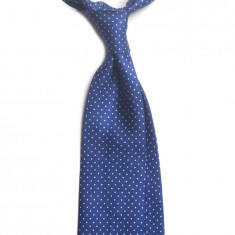 Cravata matase 7-fold model pin-dot