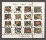 Umm al Qiwain 1973 Fishes, perf. mini sheetlet, used M.226